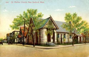 MA - New Bedford. St Martins Church
