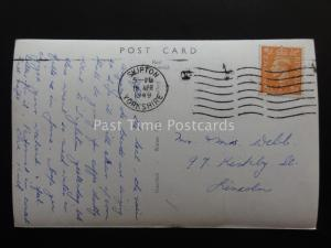 Yorkshire BUCKDEN Village & Scarr House Moor c1948 Old RP PC by W. Scott 21104