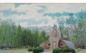 Picturesque Northern Church at Haines Junction,  Yukon,  40-60s