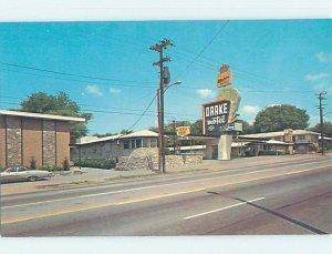 Pre-1980 MOTEL SCENE Nashville Tennessee TN AD9225