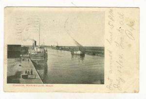 Harbor, Manistique, Michigan, PU-1904