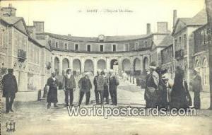 Brest, France, Carte, Postcard L'Hopital Maritime Brest L'Hopital Maritime