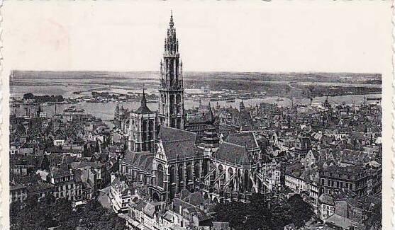Belgium Antwerpen Anvers Cathedrale et Coude d'Austruweel 1965 Photo