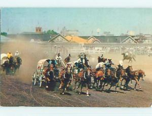 Pre-1980 TOWN VIEW SCENE Calgary Alberta AB p9431