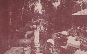 Wooden Boats, Xochimilco, Mexico City, Mexico, 1937