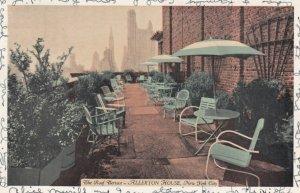 NEW YORK CITY, 1930s; The Roof Terrace, Allerton House
