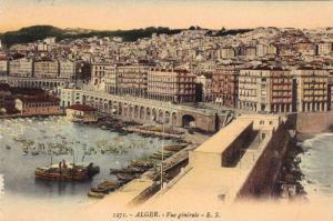 Vue Generale, Boats, Alger, Algeria, Africa, 1900-1910s