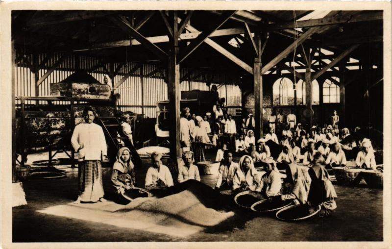 INDONESIA PC DUTCH INDIES - Intérieur van een theefabriek - Preanger JAVA (a1652