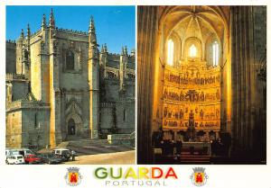 Portugal Guarda Se Catedral Altor Mor Regiao de Turismo Serra Postcard