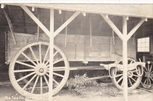 Old Time Freight Wagon Real Photo