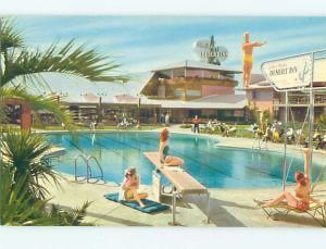 1950's WILBUR CLARK'S DESERT INN MOTEL Las Vegas Nevada Nevada NV j6020-12