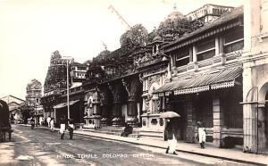 Colombo Ceylon, Ceylan Hindu Temple Colombo Hindu Temple