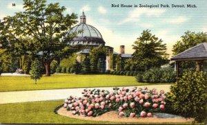 Michigan Detroit Zoological Park Bird House
