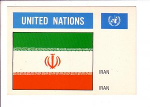 Iran, Flag, United Nations