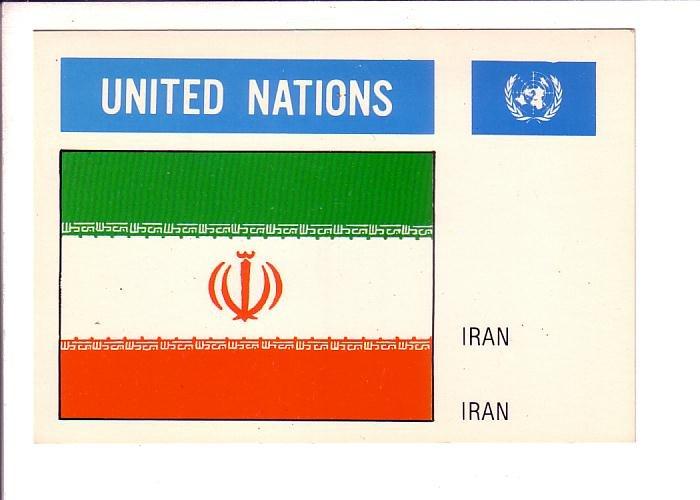 Iran, Flag, United Nations