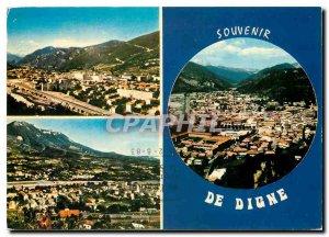 Postcard Modern Haute Provence Digne