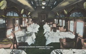Interior , Canadian Northern Railway Dining Car , 00-10s