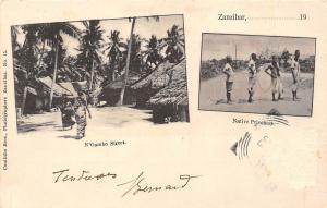 Tanzania Zanzibar N'Gambo Street, Ng'ambo, Native Prisoners 1903