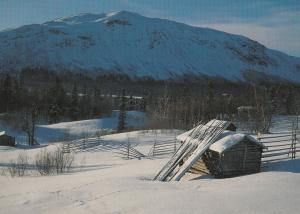 Matsdal Lappland Norway Postcard