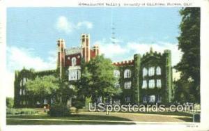 Administration Building, U of Oklahoma Norman OK 1944