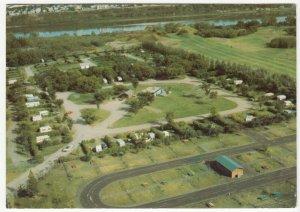 Canada; City Of Saskatoon, Gordon Howe Campsite From The Air PPC, Unused, c 60's
