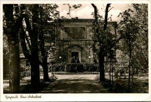 Vtg Postcard RPPC Bayreuth, Germany Haus Wahnfried - RIchard Wagner Home