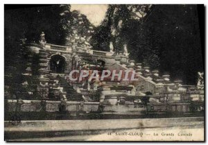 Postcard Old Saint Cloud La Grande Cascade