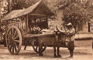 Indonesia Dutch East Indies Cheribon Java Grobak 01.44
