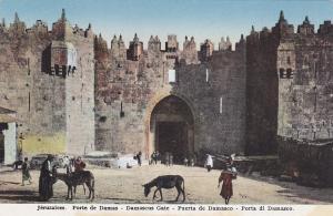 JERUSALEM , Israel , 00-10s ; Porte de Damas