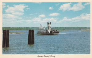 Bogue Sound Ferry , North Carolina , 50-60s