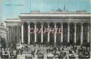 Postcard Old Paris Bourse