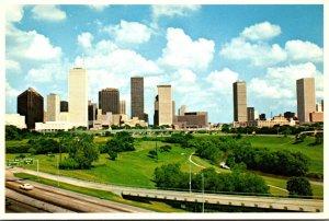 Texas Houston Skyline