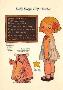 Dolly Dingle helps teacher Paper doll Novelty Unused