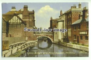 tp9296 - Berks - The Water Bridge over the River Kennet, in Newbury - Postcard