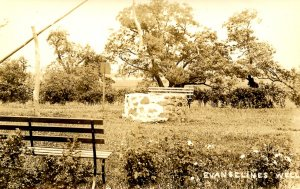 Canada - Nova Scotia, Grand Pre. Evangeline's Well     *RPPC