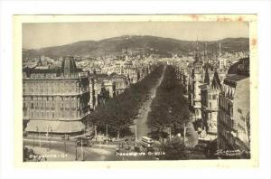RP  BARCELONA , Spain, 20-40s Passelg de Gracia