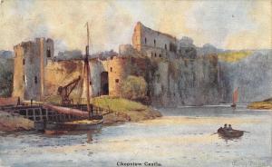 uk25597 chepstow castle  wales uk