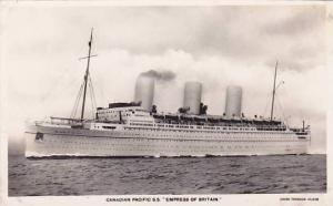 RP, Oceanliner/Steamer/Ship, Canadian Pacific S. S. Empress Of Britain, 192...