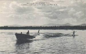 New Hampshire West Ossipee Water Skiing At Camp Cody Artvue