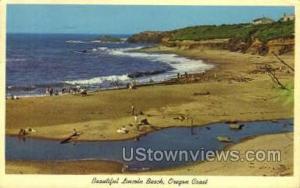 Beautiful Lincoln Beach Oregon Coast OR 1963