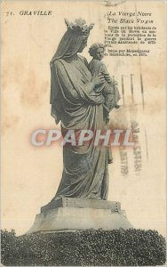 Old Postcard The Virgin Our Graville