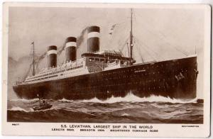 SS Leviathan, Largest Ship in the World
