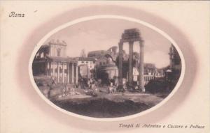Italy Roma Rome Templi di Antonio e Castore e Polluce
