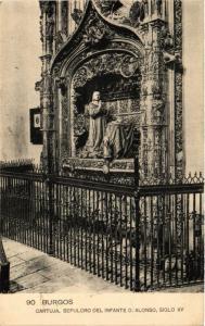 CPA Burgos Cartuja, Sepulcro del Infante D.Alonso SPAIN (744027)