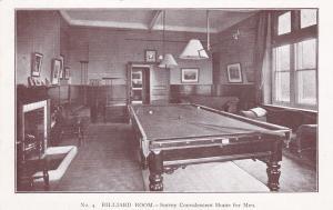 Billiard Room.-SURREY Convalescent Home for Men, England , 00-10s