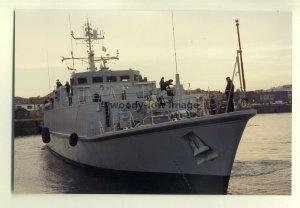 na0446 - Royal Navy Warship - HMS Walney - photograph 6x4