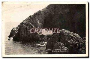 Old Postcard La Corniche D & # 39Or Cave Of Gardanne