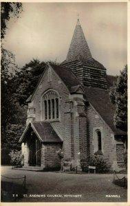Vintage Postcard, St. Andrews Church, MYTCHETT, Surrey 1Z