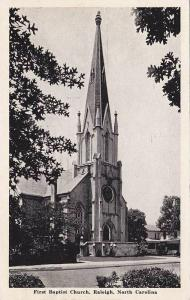 First Baptist Church, Raleigh, North Carolina, PU-1946