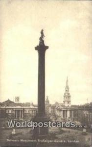 United Kingdom, UK, England, Great Britain Nelson's Monument, Trafalgar Squar...